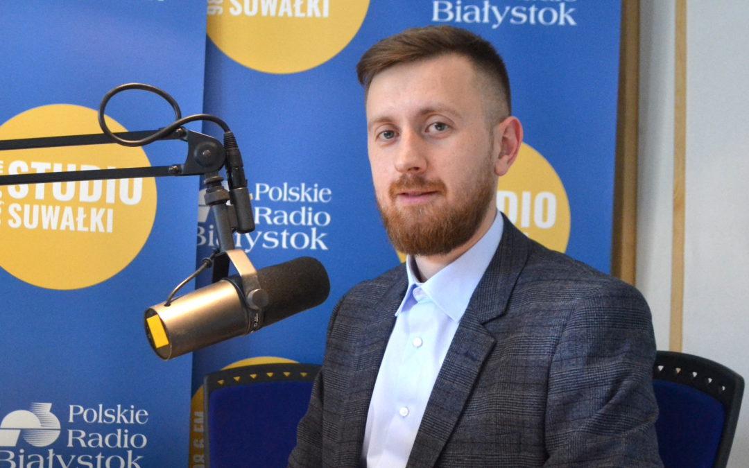 Wywiad w Polskim Radiu Białystok